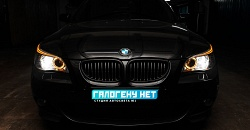 BMW E60 рестайлинг — замена модулей на биксеноновый Hella 3R, замена лампы на D1S Philips X-treme vision +50%