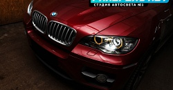 BMW X6 — замена модулей на Hella 3R и ламп на D1S Osram Night breaker unlimited Xenarc +70%
